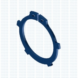 AK DIN 983 siguranta elastica Seeger pentru arbore din otel de arc
