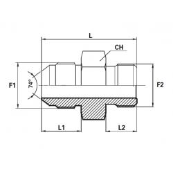 Reductie UNF Filet Exterior con 74 - Filet Exterior fara con cu loc de garnitura