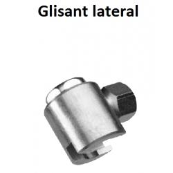 Cap gresare glisant Otel 22mm M22 M10x1 conectare laterala