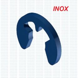 RA DIN 6799 siguranta elastica Seeger pentru arbore din inox