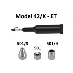 Pompa telescopica de gresare Model 42/K cu accesorii pentru vaselina ET
