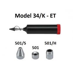 Pompa telescopica de gresare Model 34/K cu accesorii pentru vaselina ET