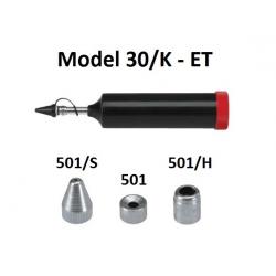 Pompa telescopica de gresare Model 30/K cu accesorii pentru vaselina ET