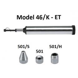 Pompa telescopica de gresare Model 46/K din metal cu accesorii pentru vaselina ET