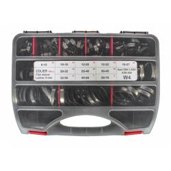 Sortiment Coliere filet melcat EURO W4 inox - 100 buc.