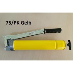 Pompa gresat UMETA TWIN LOCK 75/PK GALBEN cu accesorii