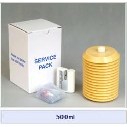 Set cartus+baterie+husa pt. Pulsarlube M 500 cm³