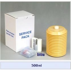 Set cartus+baterie Litiu+husa pt. Pulsarlube M 500 cm³