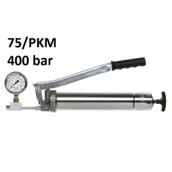 POMPA GRESAT UMETA TWIN LOCK 75 cu manometru 400 bar