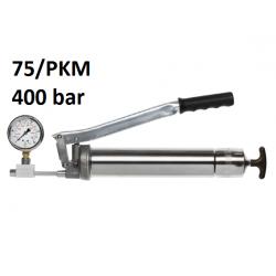 POMPA GRESAT UMETA TWIN LOCK 75 cu manometru 400 bar