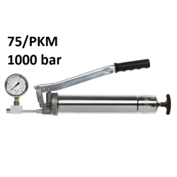 POMPA GRESAT UMETA TWIN LOCK 75 cu manometru 1000 bar